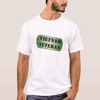 Vietnam Veteran Dogtag T-Shirt