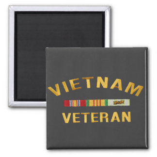 Vietnam Veteran Gifts Square Magnet