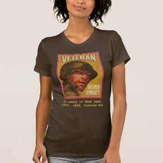 Vietnam Veteran - In Memory of ... - Customizable T-Shirt