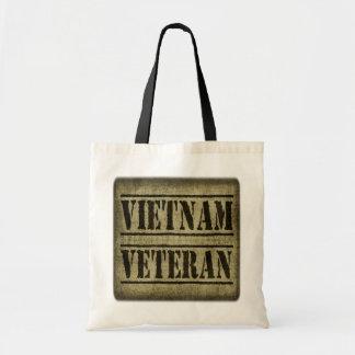 Vietnam Veteran Military Budget Tote Bag