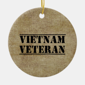 Vietnam Veteran Military Christmas Ornament