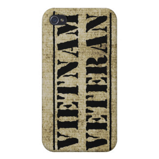 Vietnam Veteran Military Grunge Vet Covers For iPhone 4