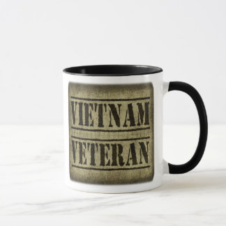 Vietnam Veteran Military Mug