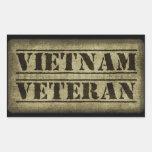 Vietnam Veteran Military Sticker