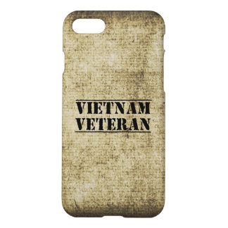 Vietnam Veteran Military War Vet iPhone 7 Case