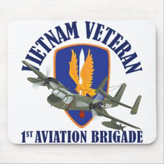 Vietnam Veteran Mohawk Mouse Pad