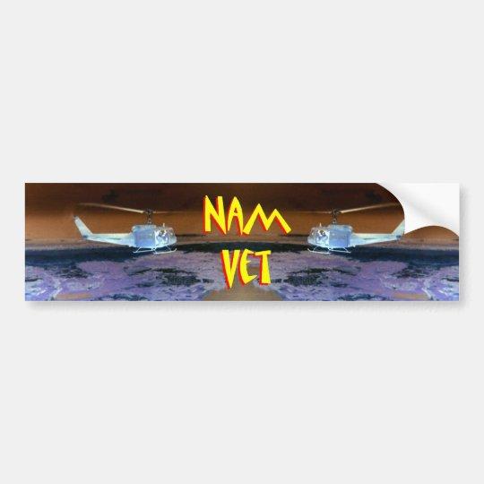Vietnam Veteran - Nam Vet 3 Bumper Sticker