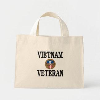 Vietnam veteran mini tote bag