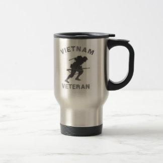 Vietnam Veteran Warrior Travel Mug