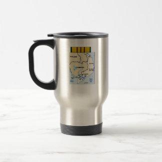 Vietnam Veterans custom stainless mug