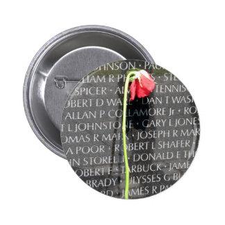 vietnam veterans memorial 6 cm round badge