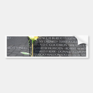 vietnam veterans memorial bumper sticker
