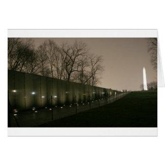 Vietnam Veterans Memorial Greeting Cards