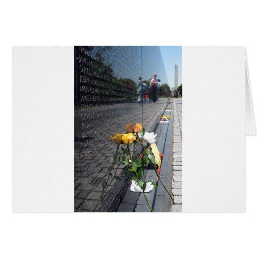 vietnam veterans memorial card
