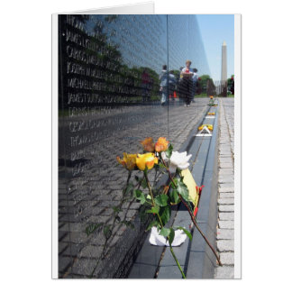 vietnam veterans memorial card