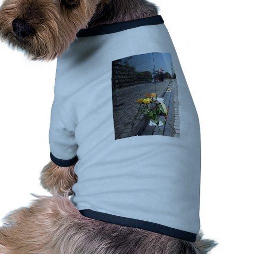 vietnam veterans memorial doggie t shirt