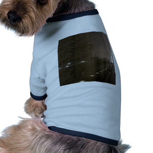 vietnam veterans memorial dog tee shirt