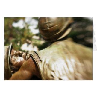 Vietnam Veteran's Memorial Greeting Card