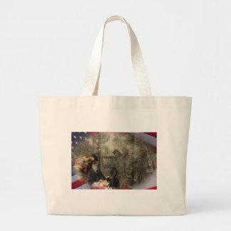 Vietnam Veterans' Memorial Jumbo Tote Bag