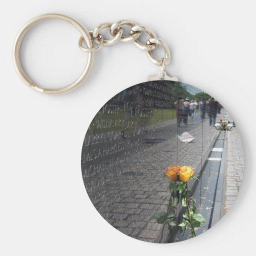 vietnam veterans memorial keychain