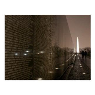 vietnam veterans memorial postcards