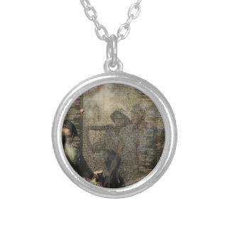 Vietnam Veterans' Memorial Silver Plated Necklace
