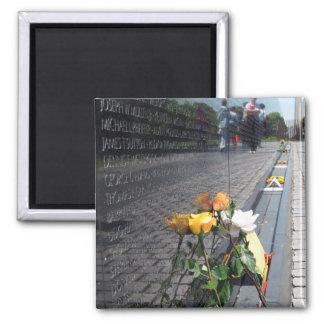 vietnam veterans memorial square magnet