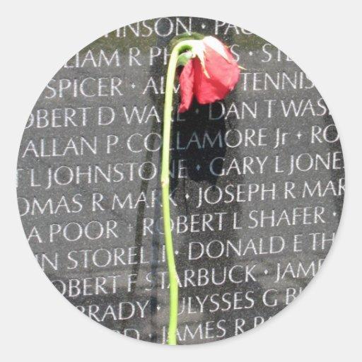 vietnam veterans memorial sticker