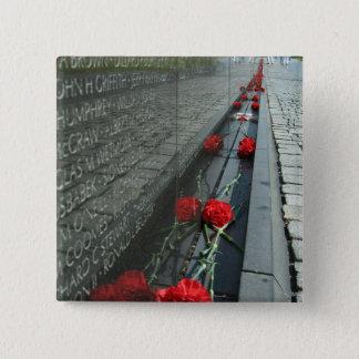 Vietnam veterans Memorial Wall 15 Cm Square Badge