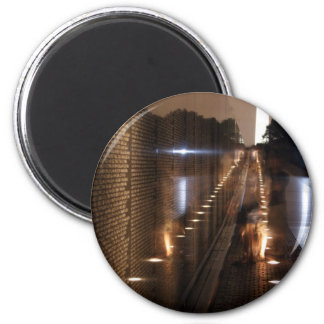 Vietnam Veterans Memorial Wall Photo 6 Cm Round Magnet