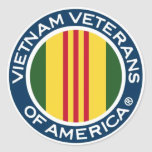 Vietnam Veterans of America 3 inch Stickers