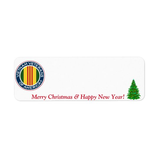Vietnam Veterans of America Christmas Label #3