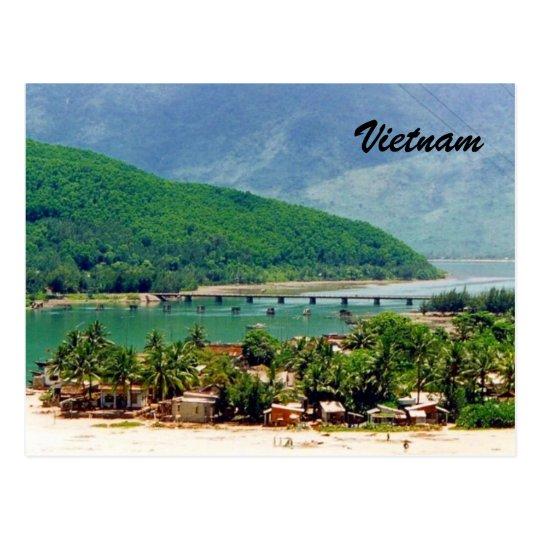 vietnam villages postcard