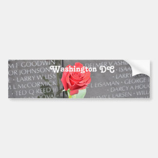Vietnam Wall Memorial Bumper Stickers
