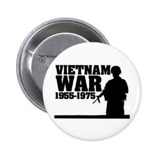 Vietnam War 1955-1975 6 Cm Round Badge