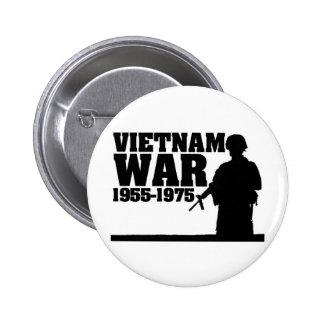Vietnam War 1955-1975 Pinback Buttons