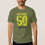 Vietnam War 50th Anniversary T Shirts