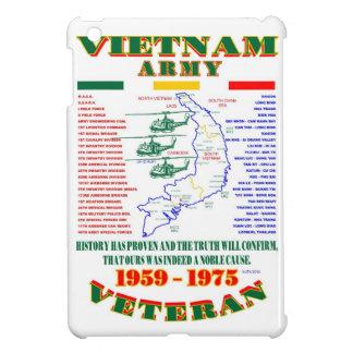 VIETNAM WAR. AMERICAN ARMY VETERAN iPad MINI CASES