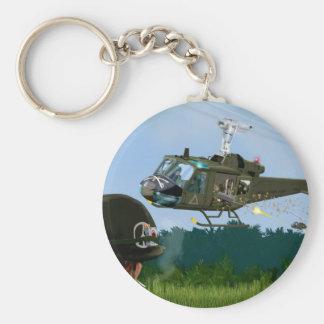 Vietnam War Bell Huey. Key Ring
