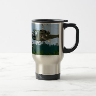 Vietnam War Bell Huey. Stainless Steel Travel Mug