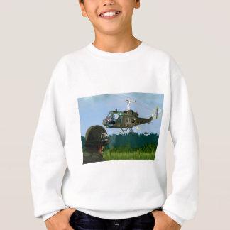 Vietnam War Bell Huey. Sweatshirt