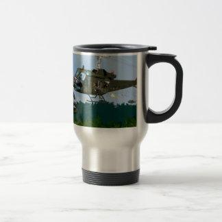 Vietnam War Bell Huey. Travel Mug