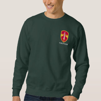 Vietnam War Regiments & Divisions Sweatshirt