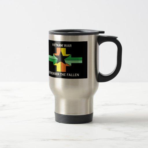 VIETNAM WAR - REMEMBER THE FALLEN COFFEE MUGS