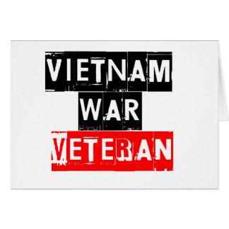 vietnam war veteran card