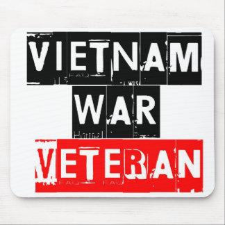 vietnam war veteran mouse pad