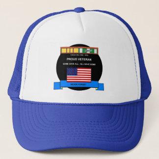 Vietnam War Veteran - Never Forget Trucker Hat