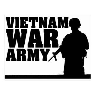 Vietnam War Veteran Postcard