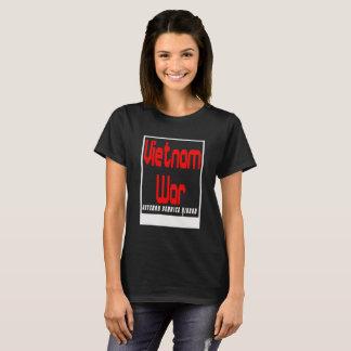 Vietnam War Veteran Service Ribbon T-Shirt
