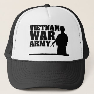 Vietnam War Veteran Trucker Hat